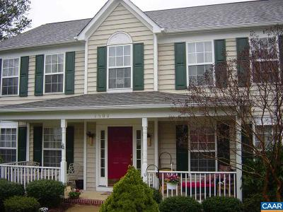 Charlottesville Single Family Home For Sale: 1500 Cherry Bark Ln