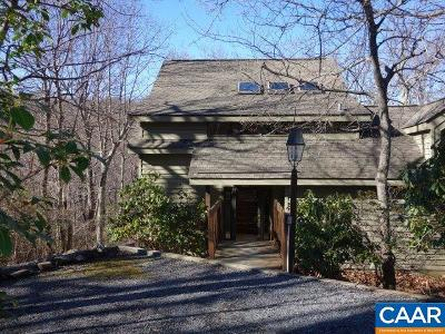 Nelson County Single Family Home For Sale: 71 Split Rock Trl
