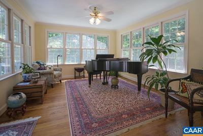 Charlottesville Single Family Home For Sale: 2300 Mill Ridge Rd