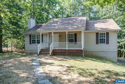 Fluvanna County Single Family Home For Sale: 19 Kingswood Rd