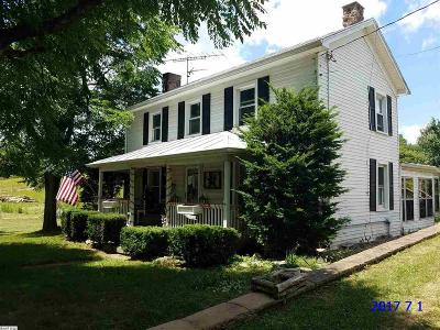 Augusta County Single Family Home For Sale: 1099 Knightly Mill Rd