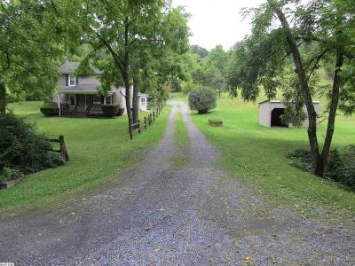 Augusta County Single Family Home For Sale: 788 Hundley Distillery Rd