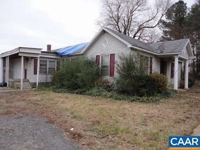 Buckingham County Single Family Home For Sale: 24696 N James Madison Hwy