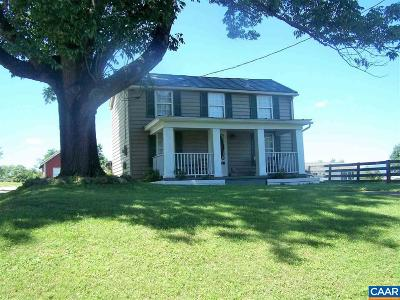 Greene County Single Family Home For Sale: 287 Ice House Rd