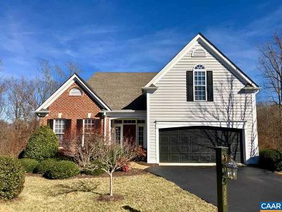 Charlottesville Single Family Home For Sale: 1358 Courtyard Dr