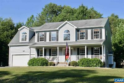 Fluvanna County Single Family Home For Sale: 33 Lafayette Dr