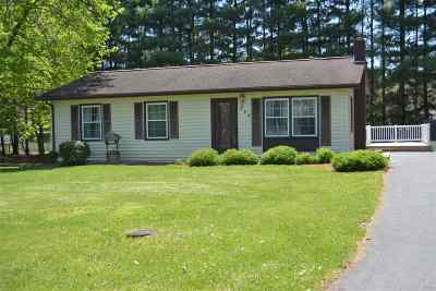 Rockingham County Single Family Home For Sale: 603 5th St
