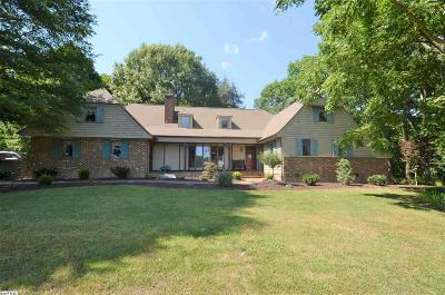 Augusta County Single Family Home For Sale: 1382 Hermitage Rd