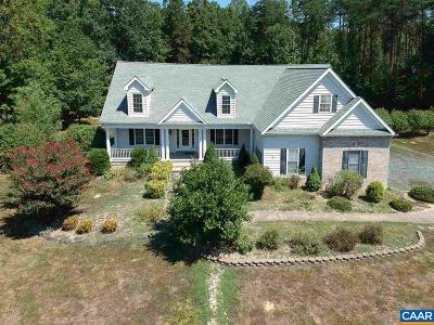 Fluvanna County Single Family Home For Sale: 94 Taylor Ridge Way