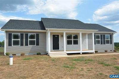 Scottsville VA Single Family Home For Sale: $189,900