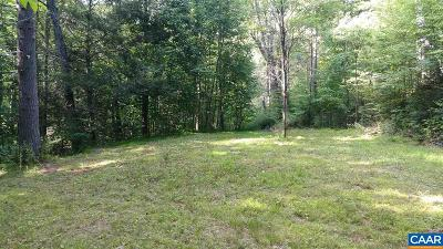 Nelson County Lots & Land For Sale: Spy Run Gap Rd
