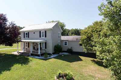 Single Family Home For Sale: 326 Back Rd