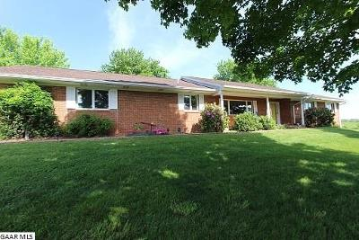 Augusta County Single Family Home For Sale: 2812 Morris Mill Rd