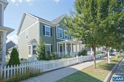 Charlottesville Single Family Home For Sale: 1838 Wickham Pl