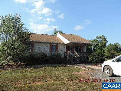 Buckingham County Single Family Home For Sale: 1868 Fanny White Dr