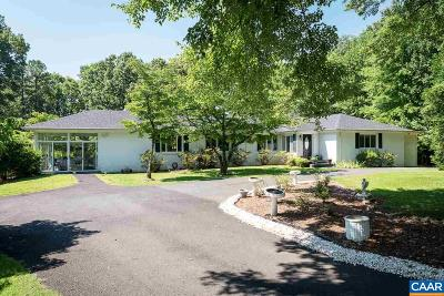 Albemarle County Single Family Home For Sale: 905 Frays Mountain Rd
