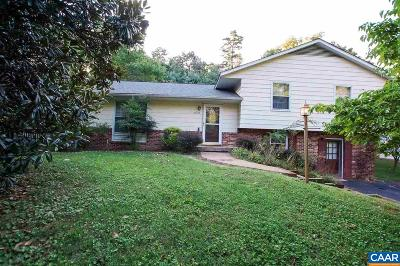 Charlottesville Single Family Home For Sale: 2629 Commonwealth Dr