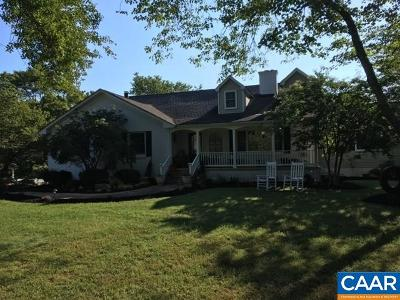 Charlottesville Single Family Home For Sale: 1225 Old Ballard Rd