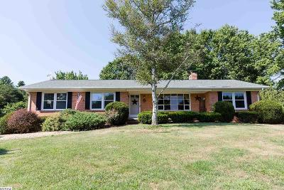 Augusta County Single Family Home For Sale: 3002 Morris Mill Rd