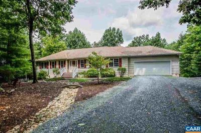 Fluvanna County Single Family Home For Sale: 84 Ruritan Ridge Ln