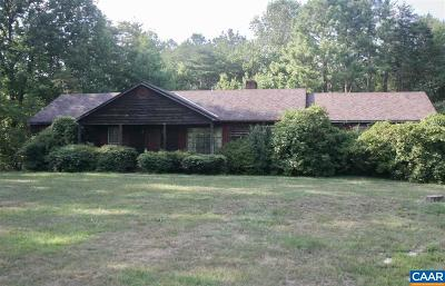 Buckingham County Single Family Home For Sale: 4154 Bell Rd