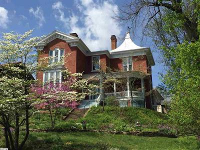 Staunton VA Single Family Home For Sale: $549,900
