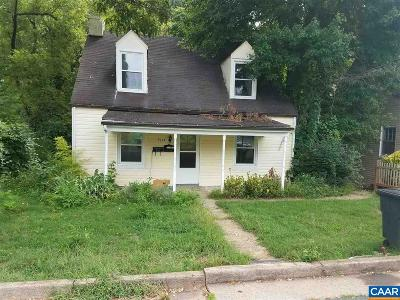 Charlottesville Single Family Home For Sale: 2114 Hill St
