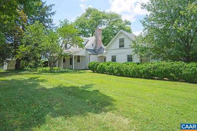 Charlottesville Single Family Home For Sale: 1331 Coles Rolling Rd #B1