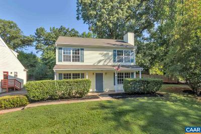 Charlottesville Single Family Home For Sale: 142 Westwood Cir