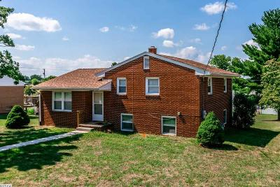 Waynesboro Single Family Home For Sale: 1101 S Winchester Ave