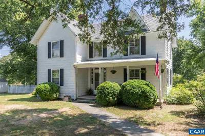 Scottsville Single Family Home For Sale: 189 James River Rd