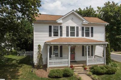 Staunton Single Family Home For Sale: 1103 Walnut St