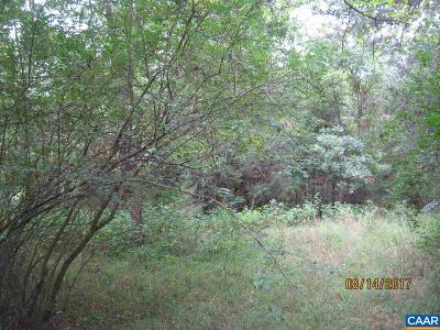 Fluvanna County Lots & Land For Sale: 187 Andrew St