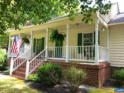 Louisa County Single Family Home For Sale: 4558 Paynes Mill Rd