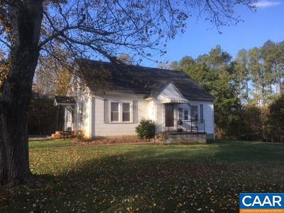 Fluvanna County Single Family Home For Sale: 5320 Shores Rd
