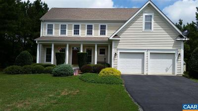 Fluvanna County Single Family Home For Sale: 325 Antioch Springs Ln