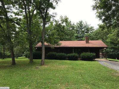 Augusta County Single Family Home For Sale: 955 Buffalo Gap Hwy