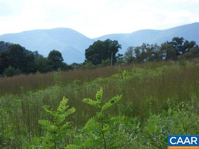 Nelson County Lots & Land For Sale: Blue Rock Ln