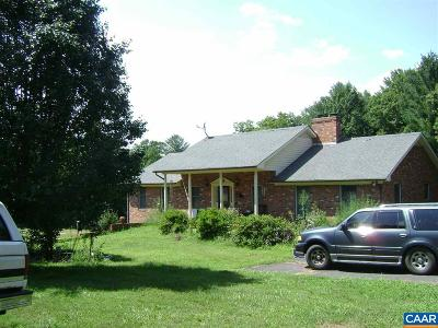 Single Family Home For Sale: 967 Fredericksburg Rd