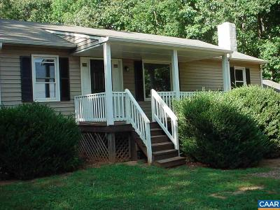 Fluvanna County Single Family Home For Sale: 417 Ruritan Lake Rd