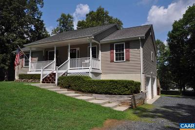 Fluvanna County Single Family Home For Sale: 583 Jefferson Dr