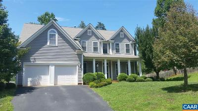 Charlottesville Single Family Home For Sale: 2040 Via Florence