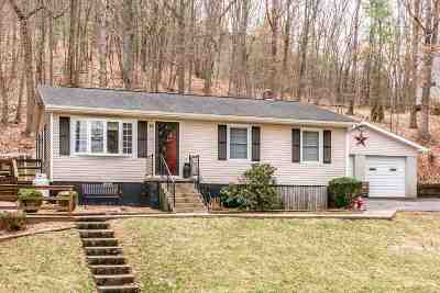 Rockingham County Single Family Home For Sale: 2153 Giants Grave Rd