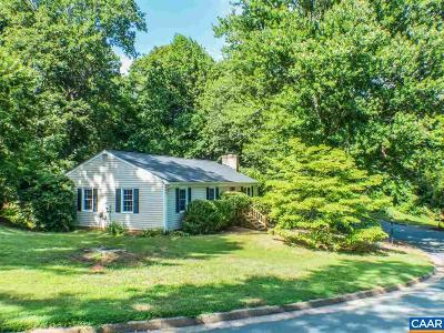 Charlottesville Single Family Home For Sale: 325 Eastbrook Dr