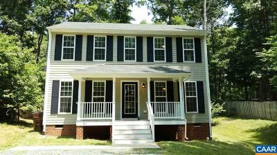 Fluvanna County Single Family Home For Sale: 21 Jefferson Dr