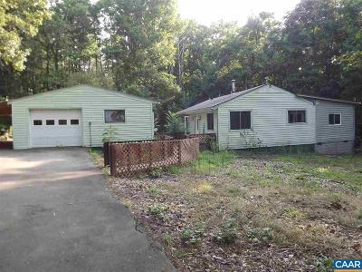 Louisa County Single Family Home For Sale: 97 Johnny Hall Rd