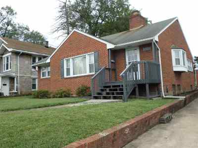 Harrisonburg City County, Harrisonburg County Single Family Home For Sale: 537 South High St
