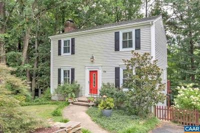 Charlottesville Single Family Home For Sale: 106 Leigh Pl