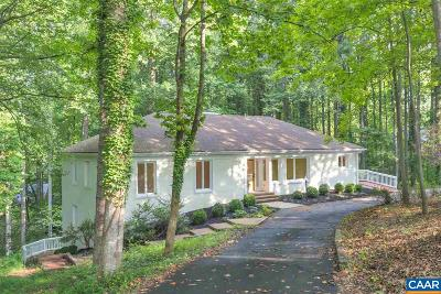 Charlottesville Single Family Home For Sale: 756 Broomley Rd
