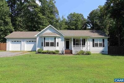 Albemarle County Single Family Home For Sale: 1897 Old Lynchburg Rd